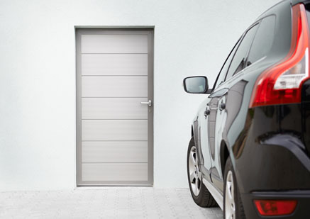 Side door RAL9006