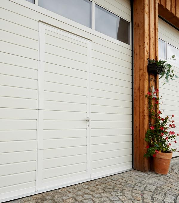 Wicket door with low threshold & Niemetz Torsysteme GmbH - Wicket doors